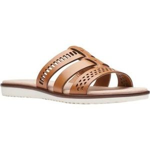 Collection by Clarks Kele Willow Slide Sandals